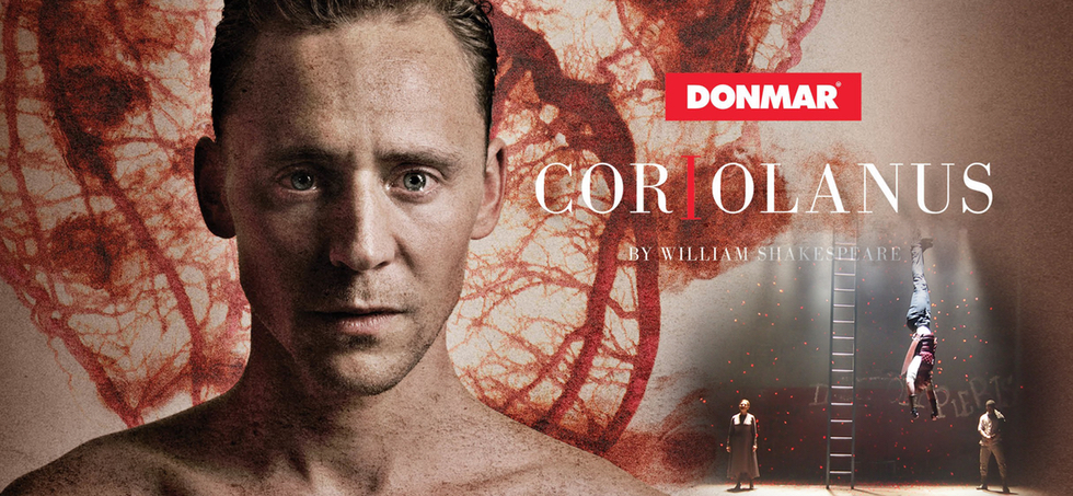 CORIOLANUS DONMAR TOM HIDDLESTON