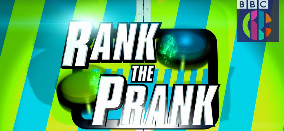 Rank the Prank CBBC